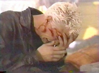 Spike's reaction to buffy's death