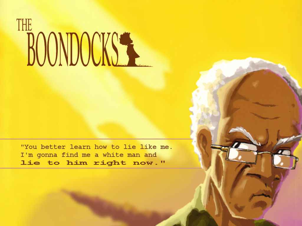 the boondocks the boondocks 506037 1024 768