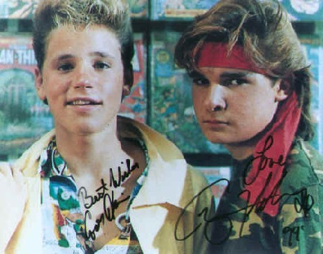 The Two Coreys - Autographs